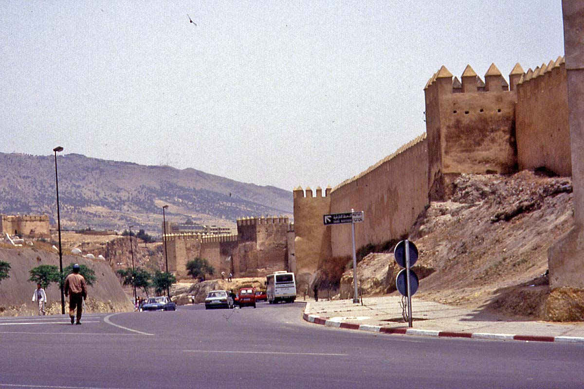 meknes city wall