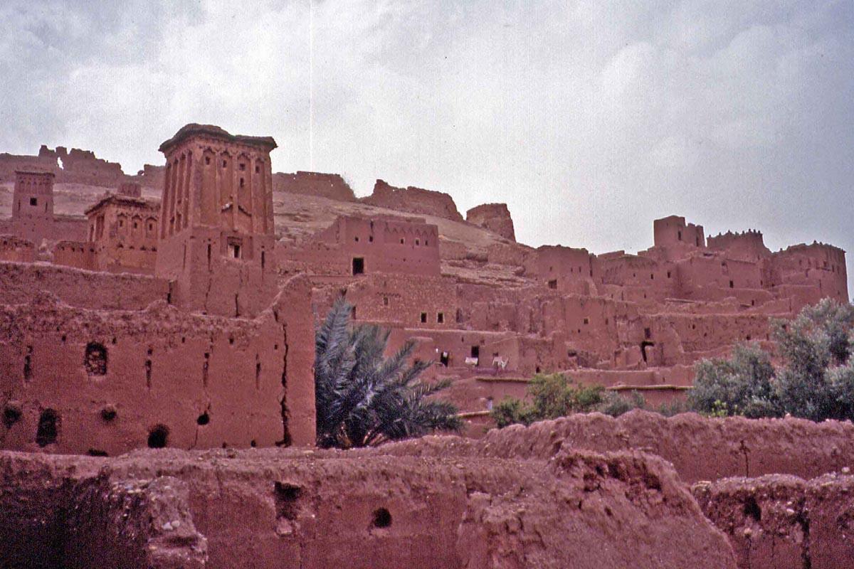 Kasbah Ait Benhaddou in Maroc