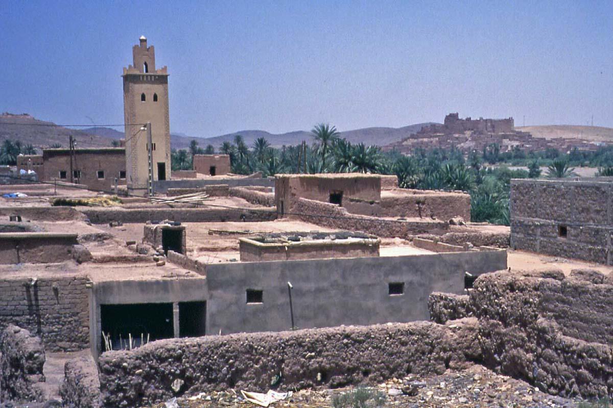 Kasbah in Maroc