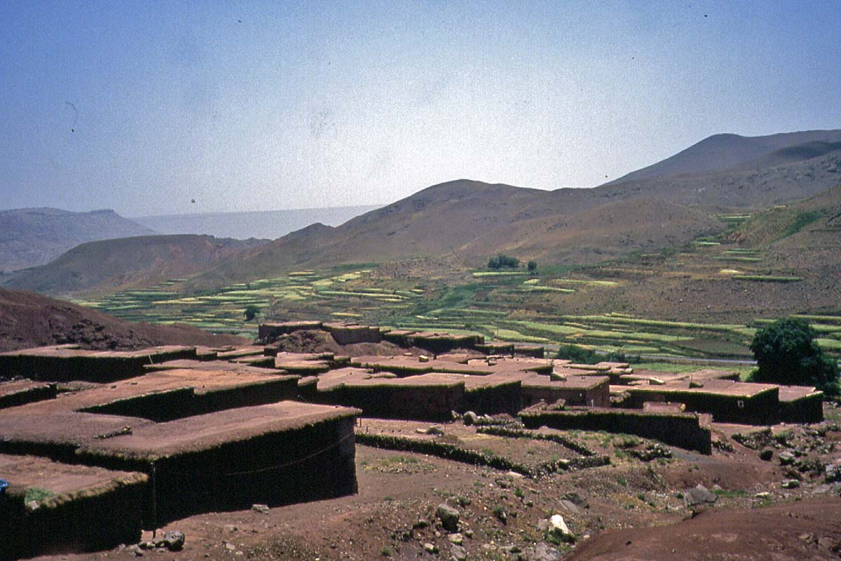 Village in the Atlas, Maroc
