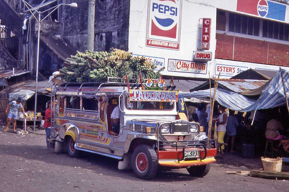 jeepney on the philippine