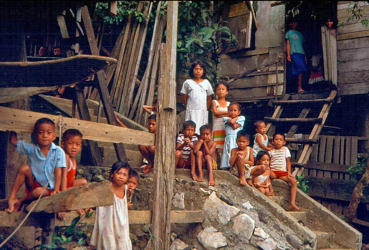 native kids on the philippines
