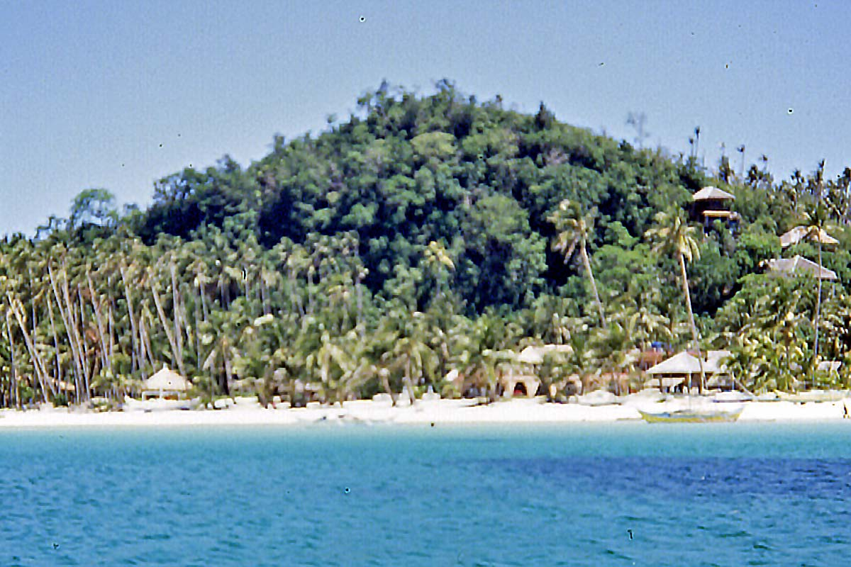 cottages on old boracay