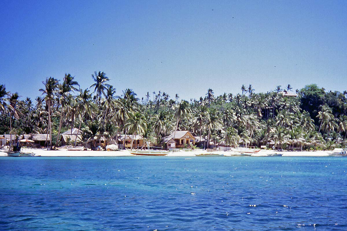 cottages at boracay beach 1991