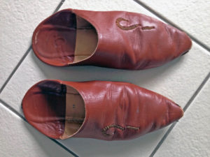 maroc babouche leather shoes