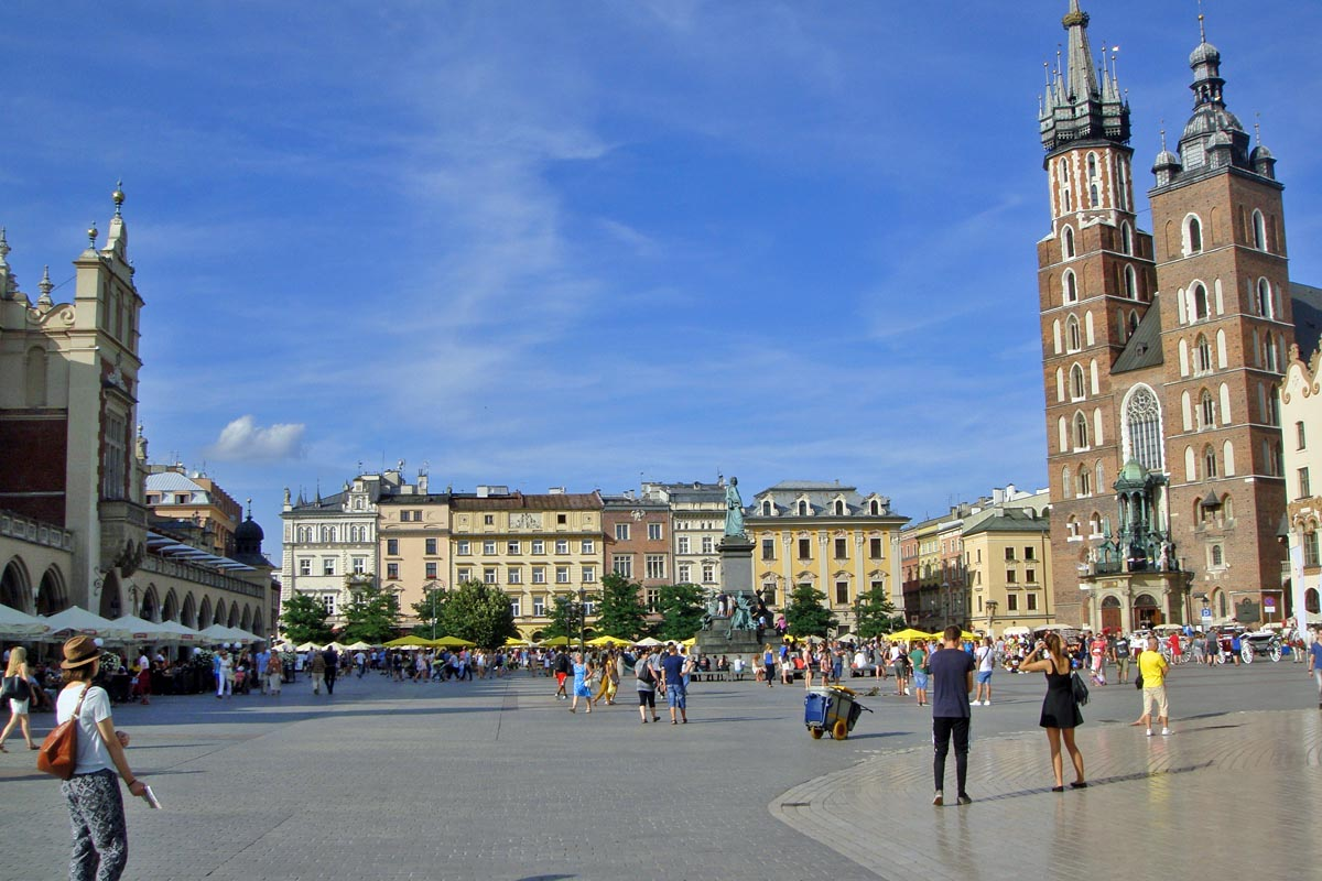 krakau main place