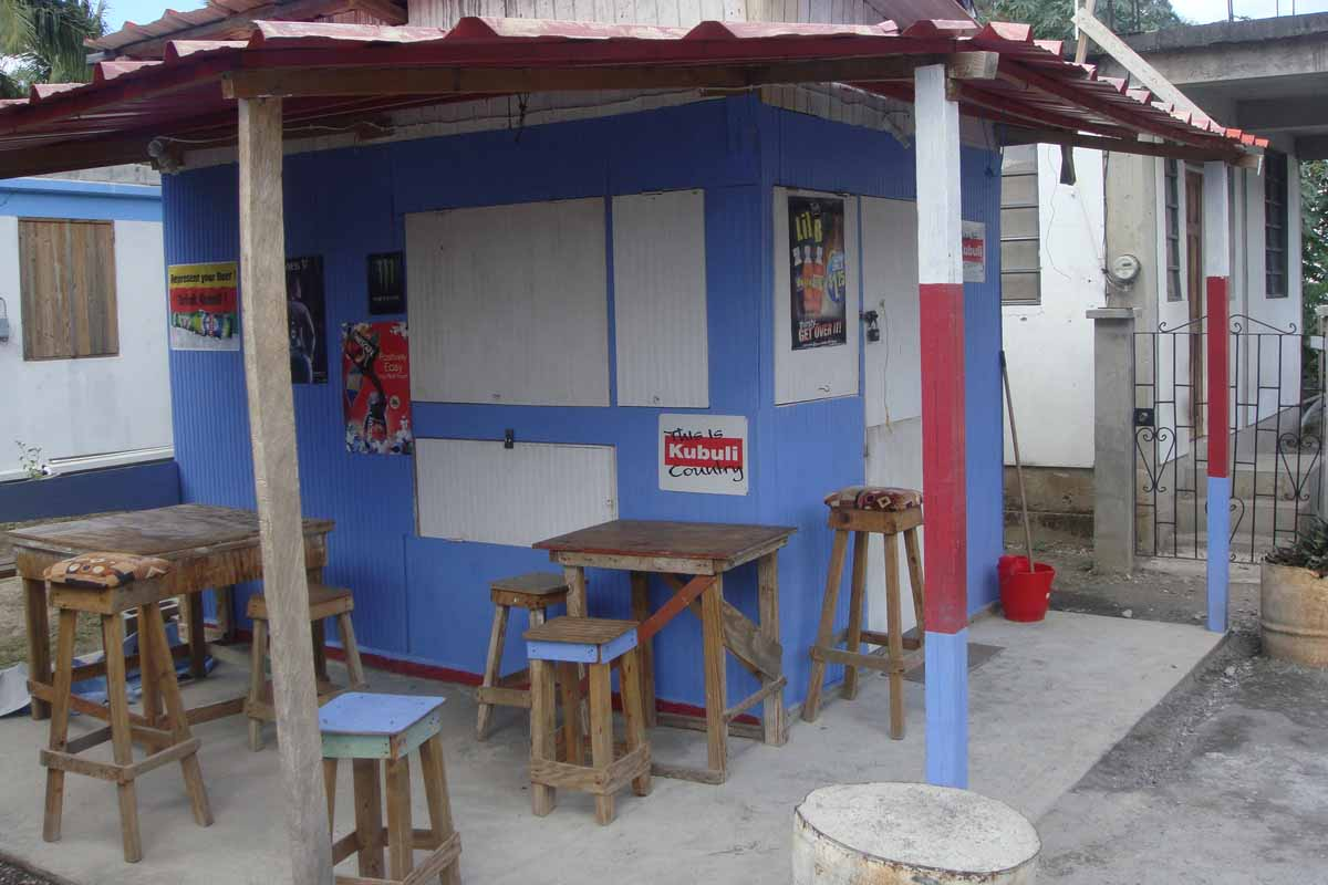bar in Roseau, Dominica