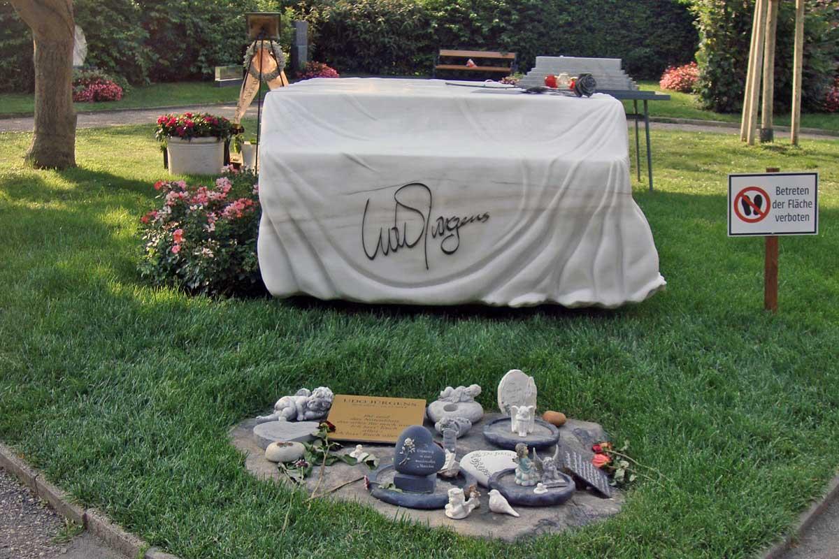 Udo Jürgens, zentralfriedhof wien