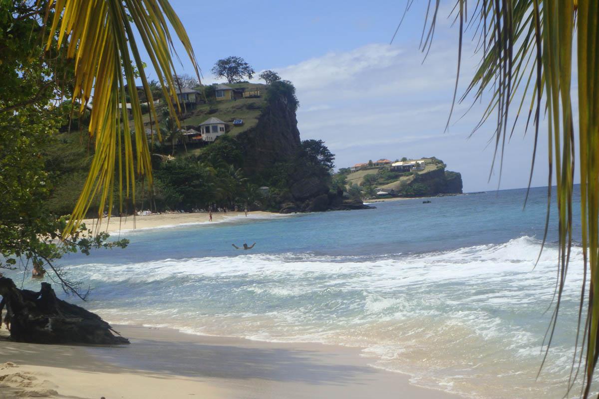 beach on grenada