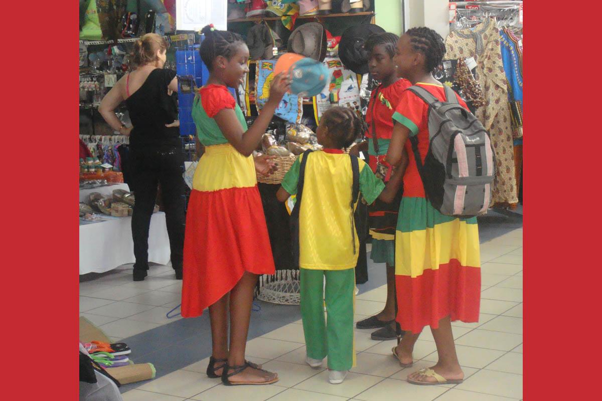 Pubels on Grenada