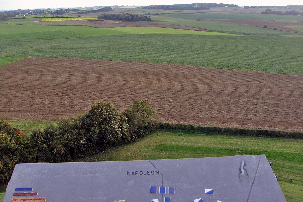 waterloo battlefield
