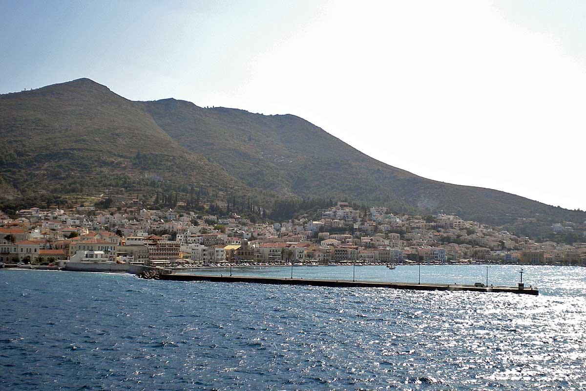 samos beach