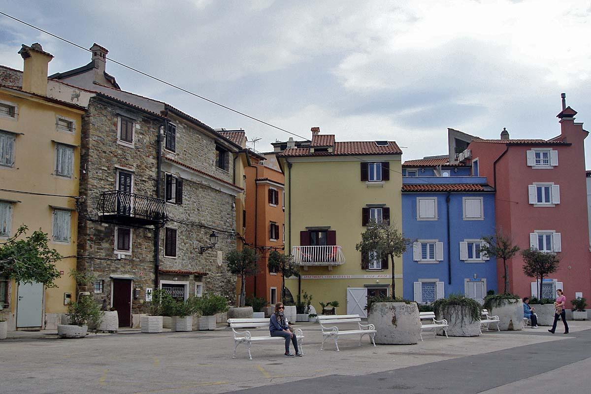 Piran kroatia old town