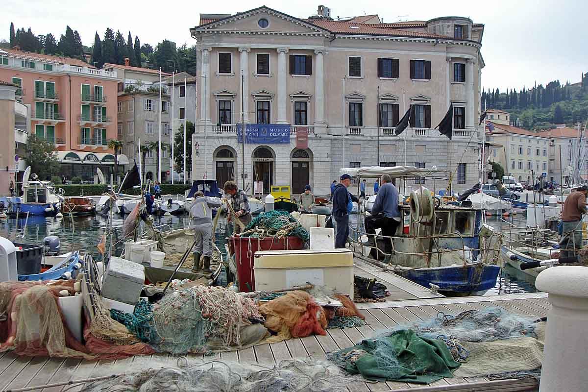 Piran kroatia port