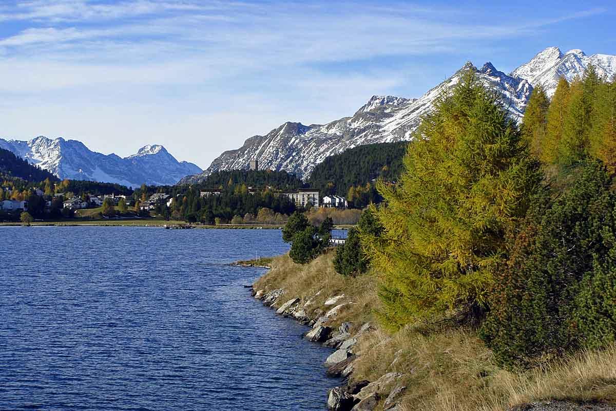 lake maloja near st moritz