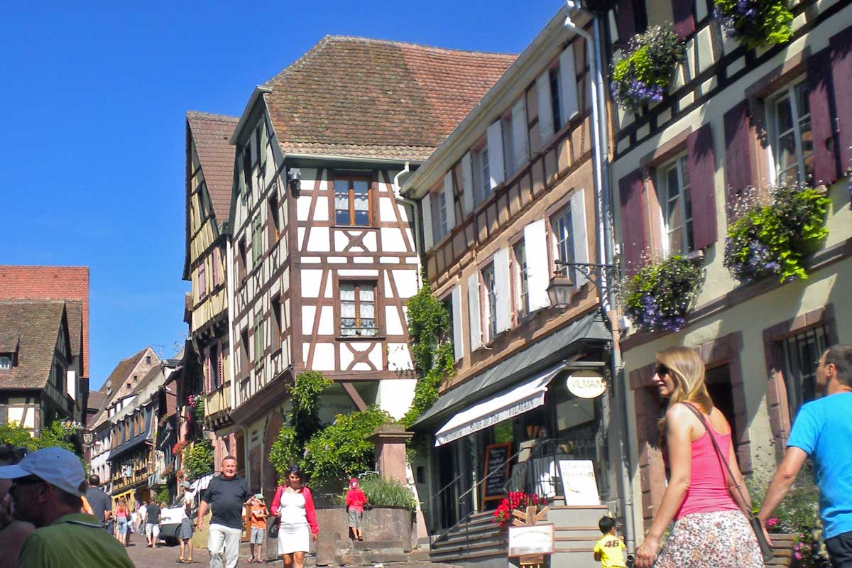 wine route alsace