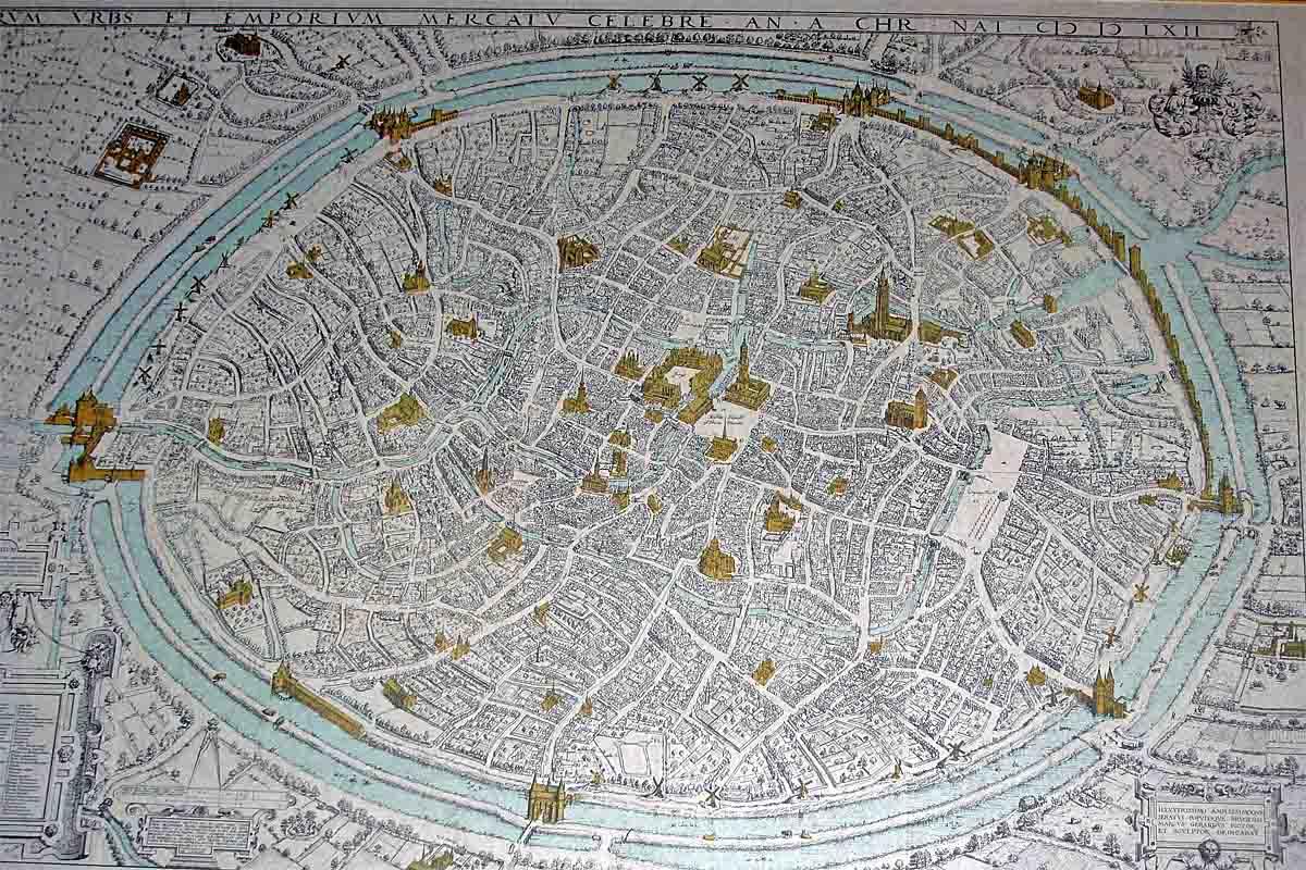 bruegge belgium map
