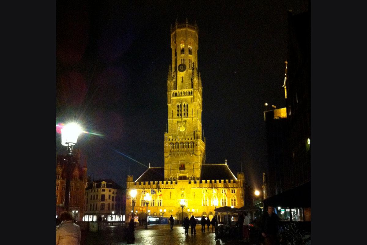 bruegge belgium cathedral