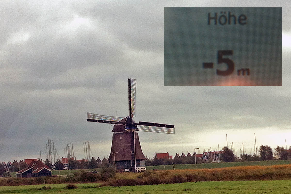 netherland windmill