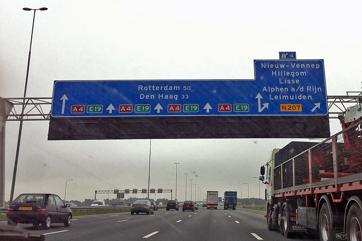 highway in the netherlands