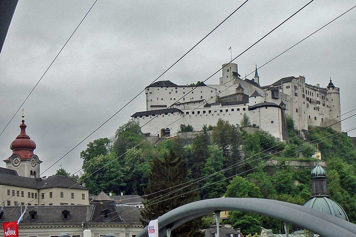 castle of salzburg