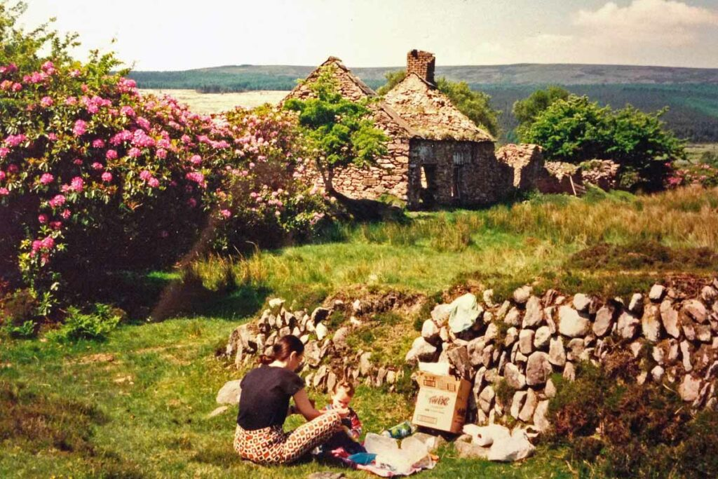 ireland picnic camping