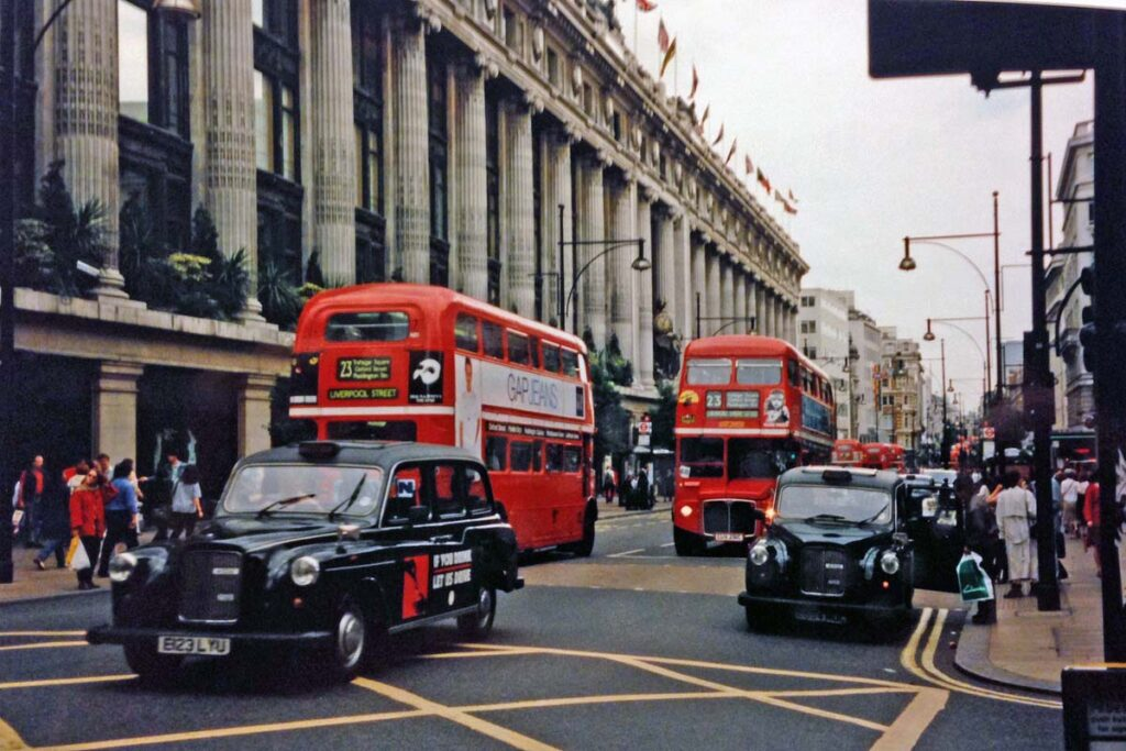 London bus cabs
